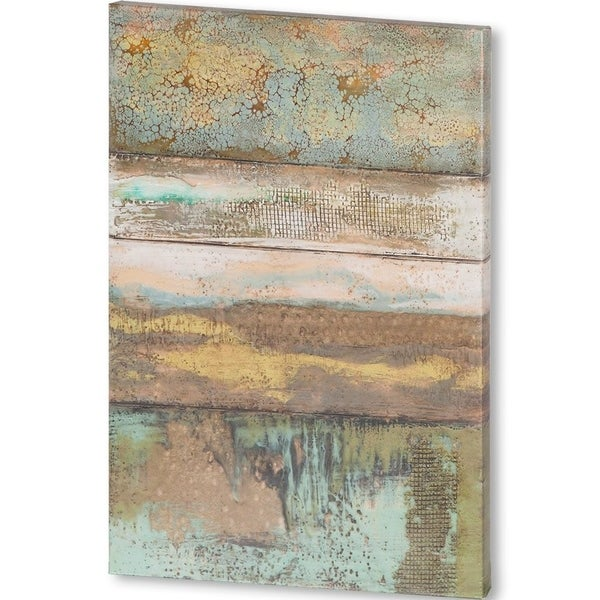 Mercana Segmented Textures II (40 X 60) Made to Order Canvas Art