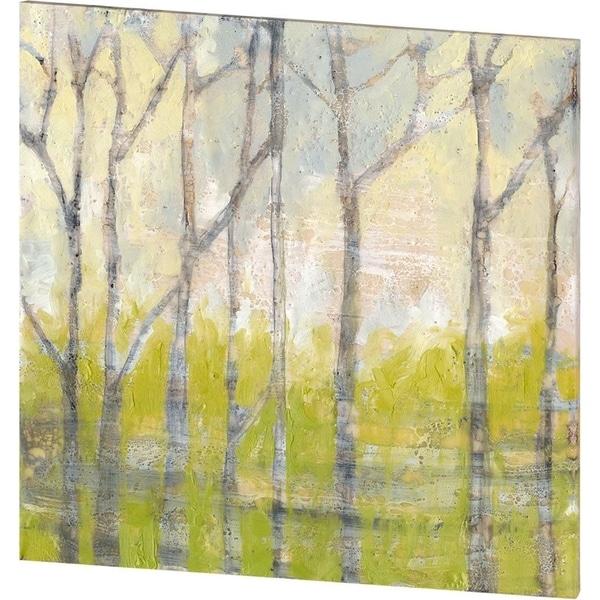 Mercana Whispering Treeline II (44 X 44) Made to Order Canvas Art