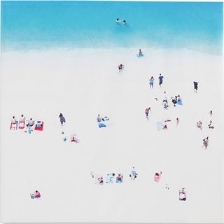 Mercana Whitewash BeacH (44 X 44) Made to Order Canvas Art