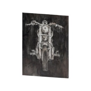 Mercana Steel Horse II (29 X 38) Made to Order Canvas Art