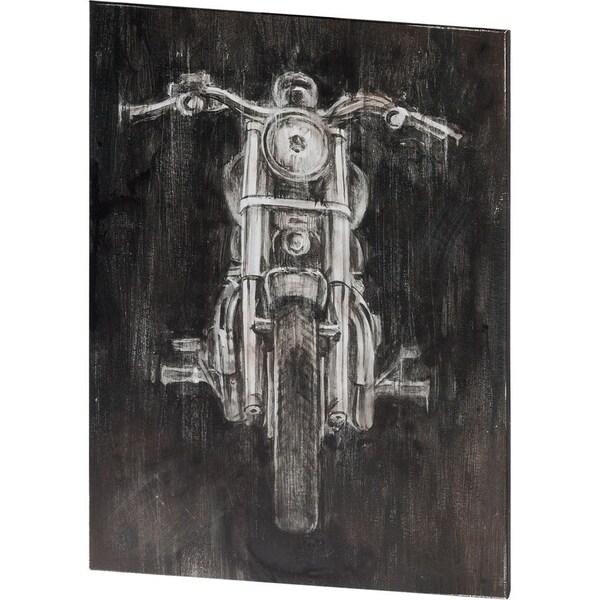 Mercana Steel Horse II (40 X 54) Made to Order Canvas Art