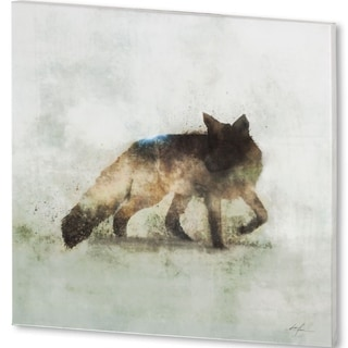 Mercana Friendly Fox (44 X 44) Made to Order Canvas Art