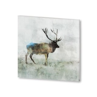 Mercana Solo Stag (30 X 30) Made to Order Canvas Art