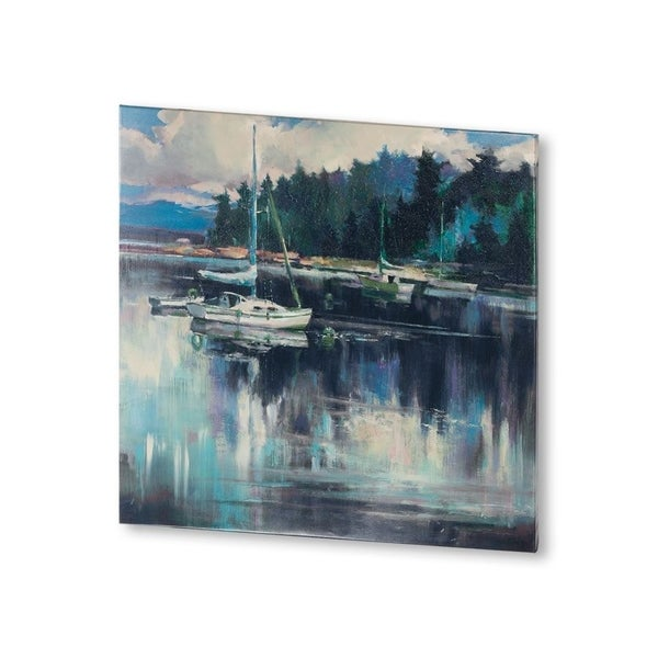 Mercana Coastal Shoreline (30 X 30) Made to Order Canvas Art