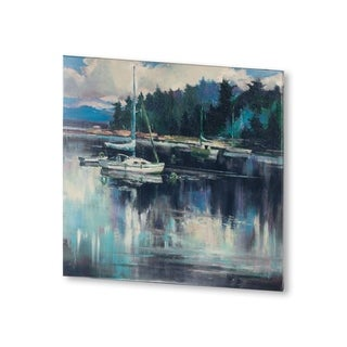 Mercana Coastal Shoreline (30 X 30) Made to Order Canvas Art