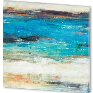 Mercana Sea Breeze Abstract I (44 X 44) Made to Order Canvas Art