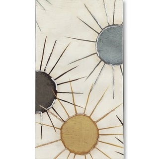 Mercana Starburst Triptych II (MC) (31 X 56) Made to Order Canvas Art