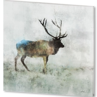 Mercana Solo Stag (44 X 44) Made to Order Canvas Art