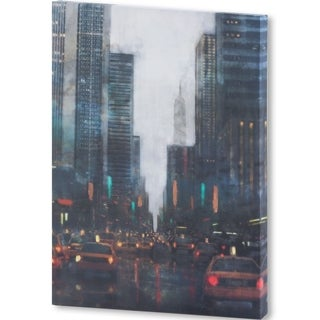 Mercana New York After Hours (36 X 51) Made to Order Canvas Art