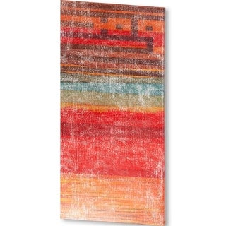 Mercana The Language of Color I (51 X 25) Made to Order Canvas Art