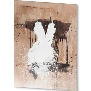 Mercana White Dress 1 (42 X 53) Made to Order Canvas Art