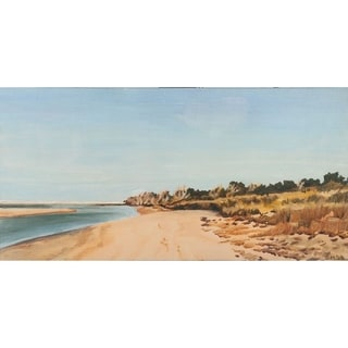 Mercana The Sound Shoreline I (44 X 22) Made to Order Canvas Art
