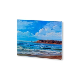 Mercana Point Loma View(30 X 25) Made to Order Canvas Art
