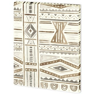 Mercana Tribal Impressions III (44 x 58) Made to Order Canvas Art
