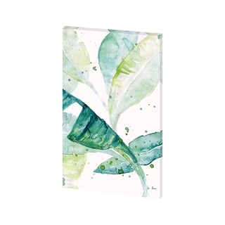 Mercana Water Color Palms I(24 X 38) Made to Order Canvas Art