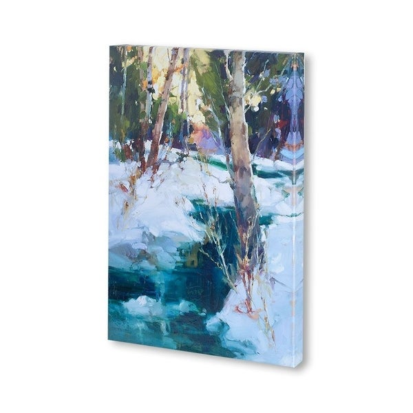 Mercana Last Snow Sierras (30 x 37) Made to Order Canvas Art