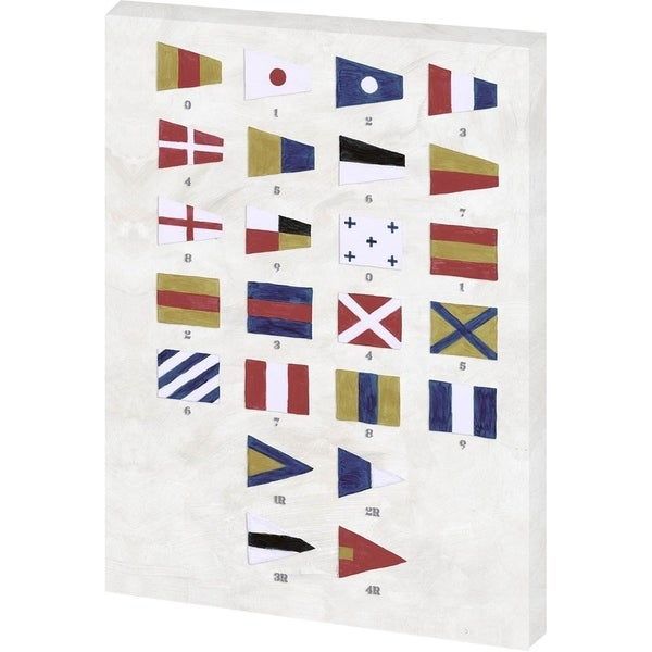 Mercana Nautical Numbers (38 x 56) Made to Order Canvas Art