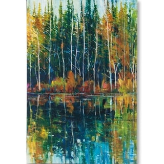 Mercana Pine Reflection I (MC) (40 X 60) Made to Order Canvas Art