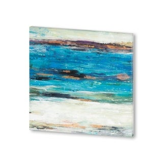 Mercana Sea Breeze Abstract II (30 X 30) Made to Order Canvas Art