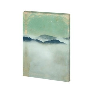 Mercana Foggy Paper Landscape B (25 X 36) Made to Order Canvas Art