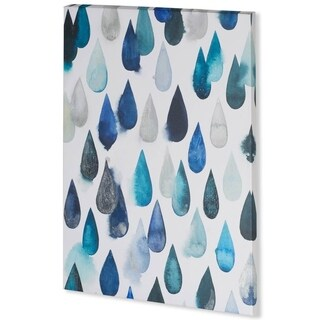 Mercana Water Drops I (44 x 58) Made to Order Canvas Art