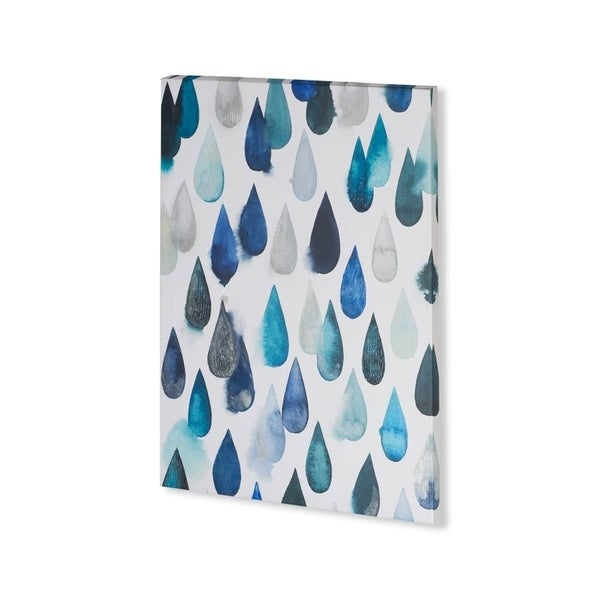Mercana Water Drops I (30 x 40) Made to Order Canvas Art