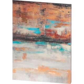 Mercana Teal Sunset I (40 X 54) Made to Order Canvas Art