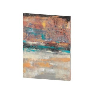 Mercana Teal Sunset II (29 X 38) Made to Order Canvas Art