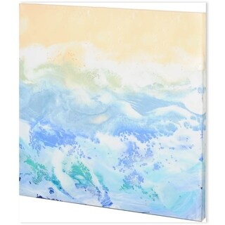 Mercana Morning Surf I (44 x 44) Made to Order Canvas Art