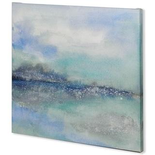 Mercana Feeling Teal I (41 x 41) Made to Order Canvas Art