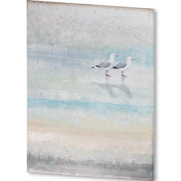 Mercana Sea Glass Shore II (40 X 54) Made to Order Canvas Art