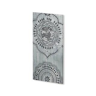 Mercana Indigo Mandala I (20 x 40) Made to Order Canvas Art