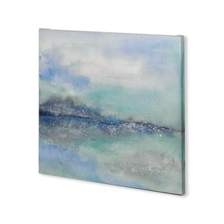 Mercana Feeling Teal I (30 x 30) Made to Order Canvas Art