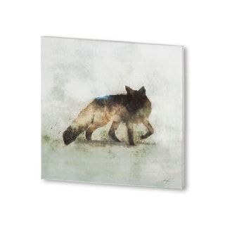 Mercana Friendly Fox (30 X 30) Made to Order Canvas Art