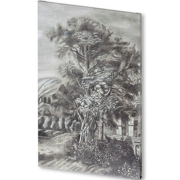 Mercana Classical LandscapeTript III(38x57) Made to Order Canvas Art