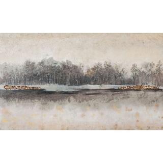 Mercana Edgewater I (64 X 38) Made to Order Canvas Art