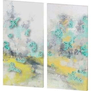 Mercana Pastel Walk II (SET 2) (54 X 54) Made to Order Canvas Art