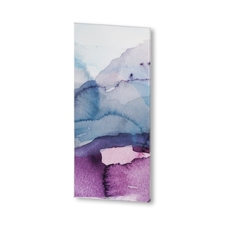 Mercana Water Landscape 2 (24 X 54) Made to Order Canvas Art