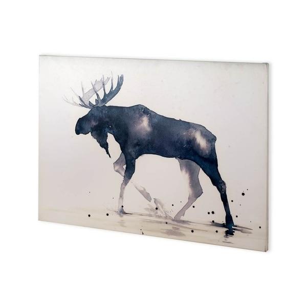 Mercana MOOSE (36 x 26) Made to Order Canvas Art