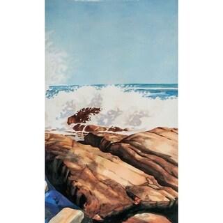 Mercana Sea Spray II ( 26 x 44 ) Made to Order Canvas Art