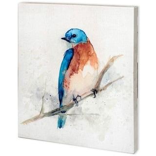 Mercana Eastern Blue II (44 x 48) Made to Order Canvas Art
