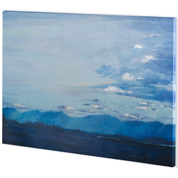 Mercana Blue Mountains (62 x 44) Made to Order Canvas Art