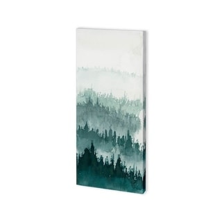Mercana Waves of Tree III (24 x 48) Made to Order Canvas Art