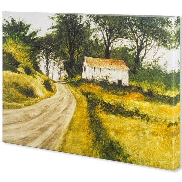 Mercana Hill Top Barn (44 x 33) Made to Order Canvas Art