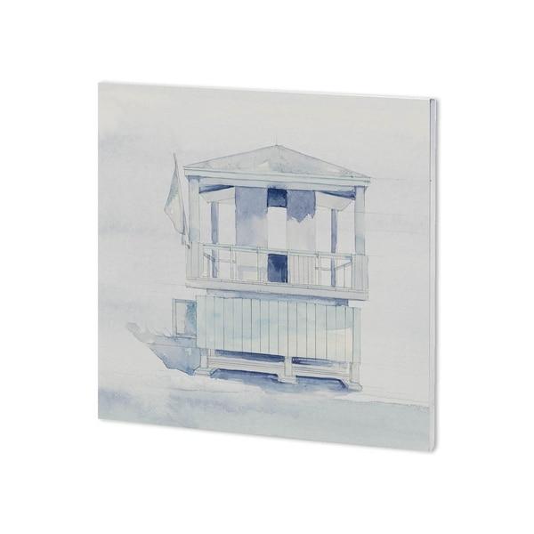 Mercana On Beach II (30 x 30 ) Made to Order Canvas Art