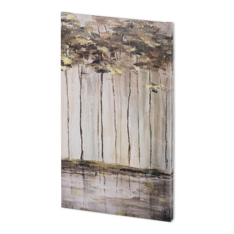 Mercana Bank of Birch III (33 x 57 ) Made to Order Canvas Art