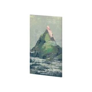 Mercana Spring Mountain (25 x 41) Made to Order Canvas Art