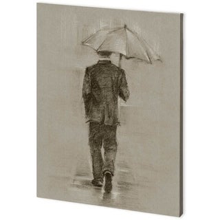 Mercana Rainy Day Rendevous II (44 x 58) Made to Order Canvas Art