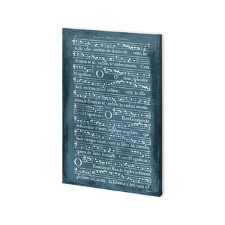 Mercana Graphic Songbook IV (30 x 45) Made to Order Canvas Art