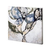 Mercana Crackled Stems II (30 x 30) Made to Order Canvas Art
